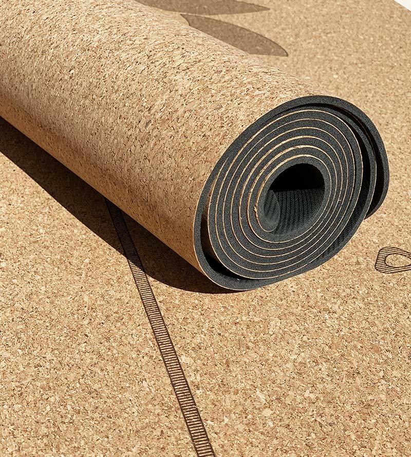 Yoga Matte Yoga Praxis Yogamatte Kork Fitness Workout