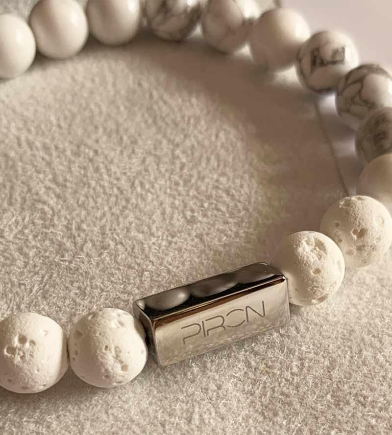 Yoga Schmuck Perlen Armband Edelstein Schmuck Set Buddha