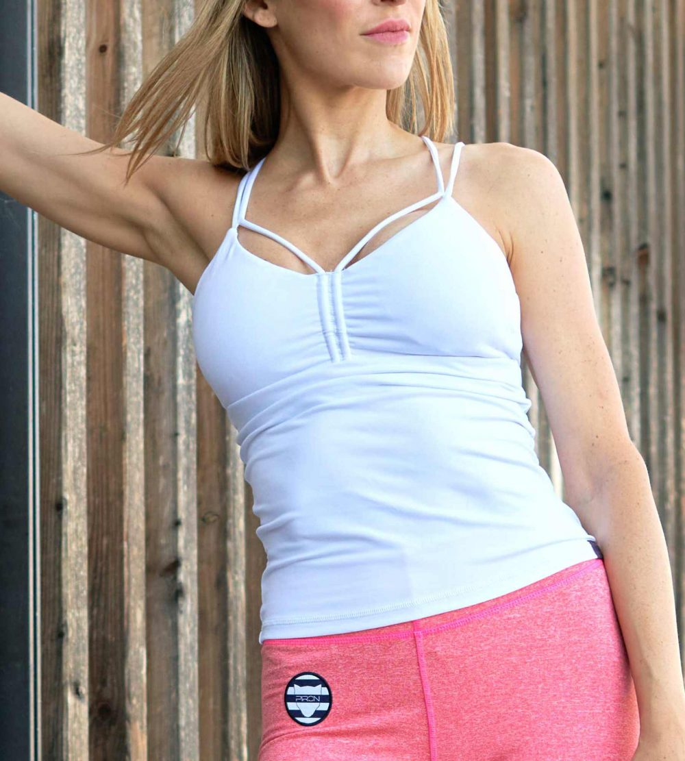 Sportbekleidung Yoga Outfit Fitness Top Sportswear Bustier Yoga Top