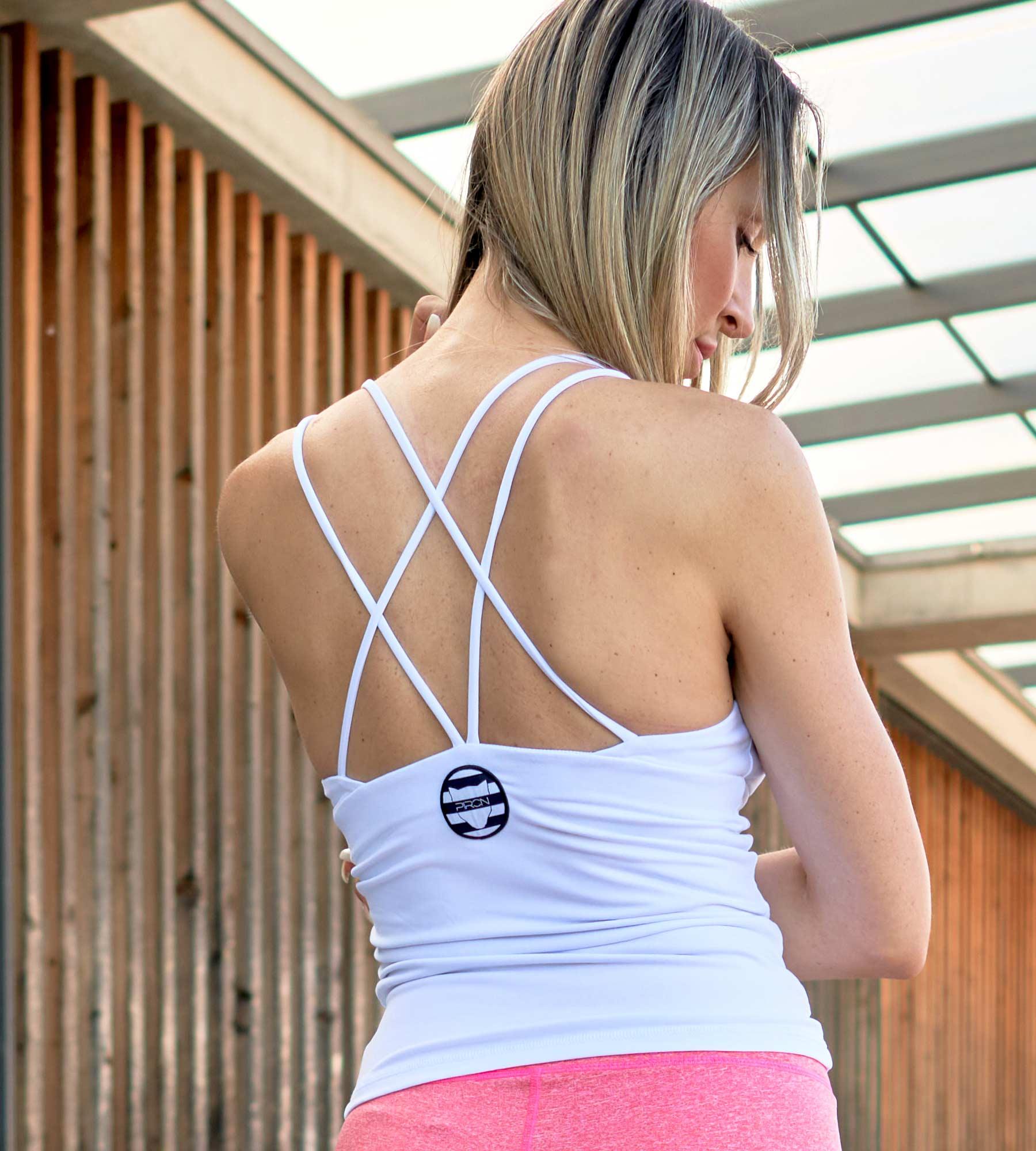 Sportbekleidung Yoga Outfit Fitness Outfit Sportswear Shirt Oberteil Damen