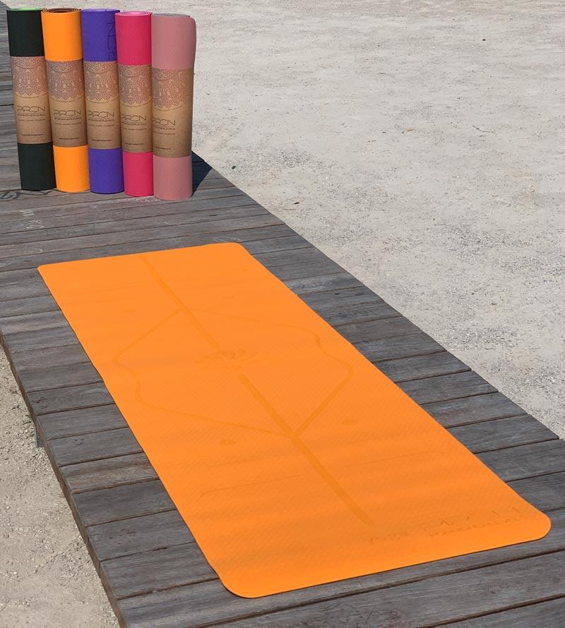 Yoga Matte Yoga Praxis Yogamatte TPE Fitness Workout